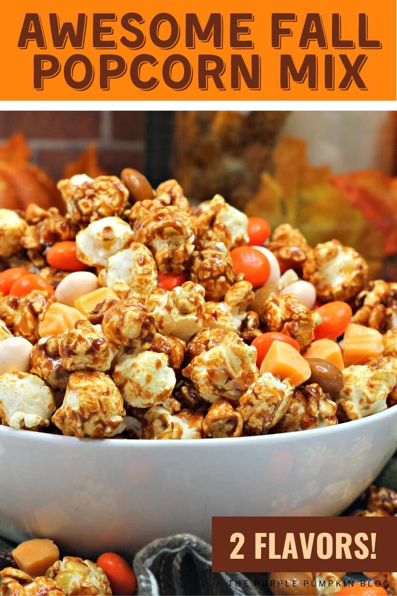 Awesome Fall Popcorn Mix