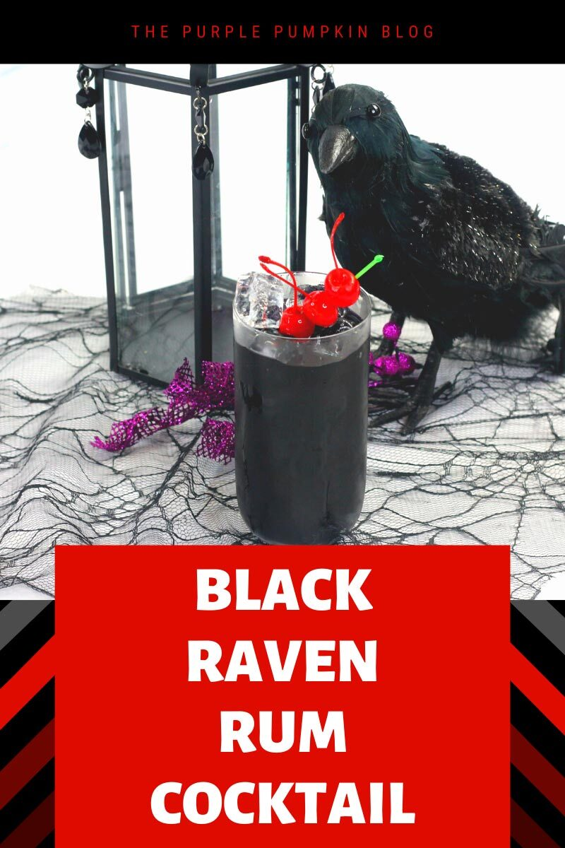 Black Raven Rum Cocktail