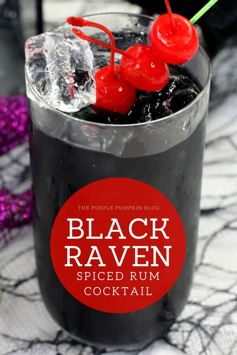 Black Raven Spiced Rum Cocktail
