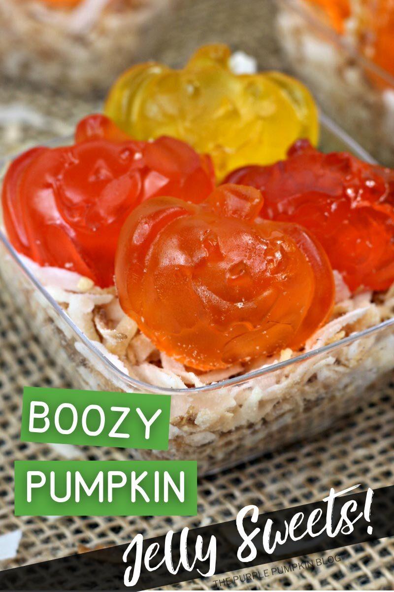 Boozy Pumpkin Jelly Sweets