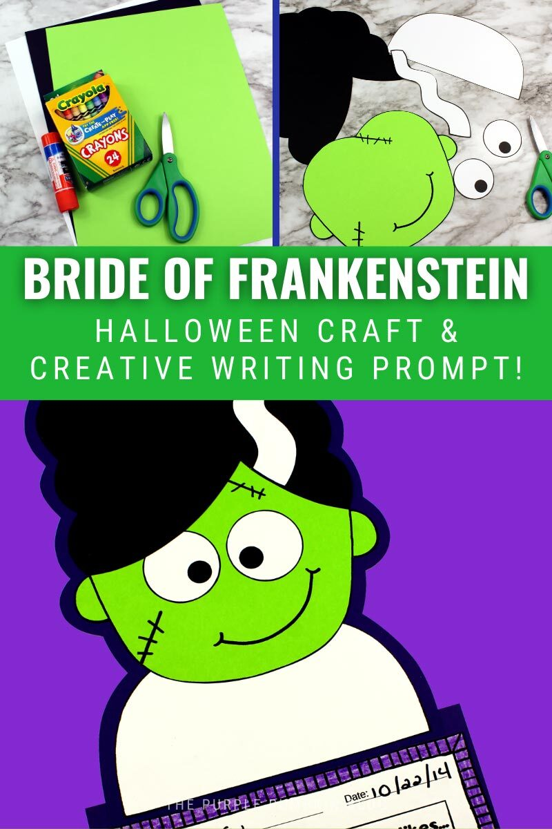 Bride of Frankenstein Craft & Creative Writing Prompt