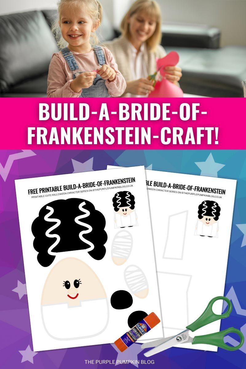 Build a Bride of Frankenstein Craft