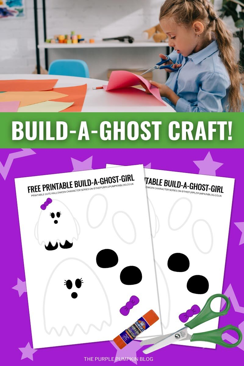 Build a Ghost Girl Craft