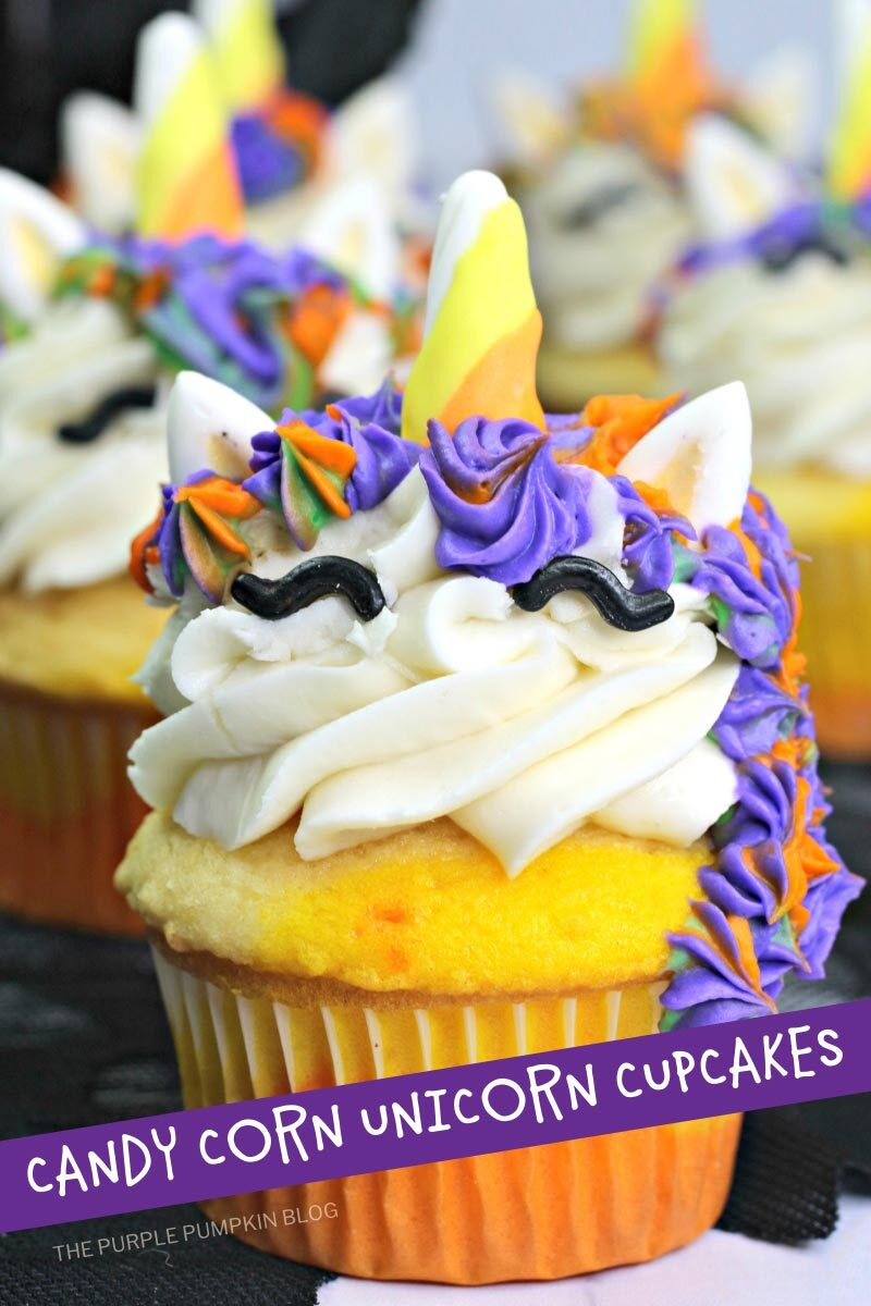 Candy Corn Unicorn Cupcake Recipe