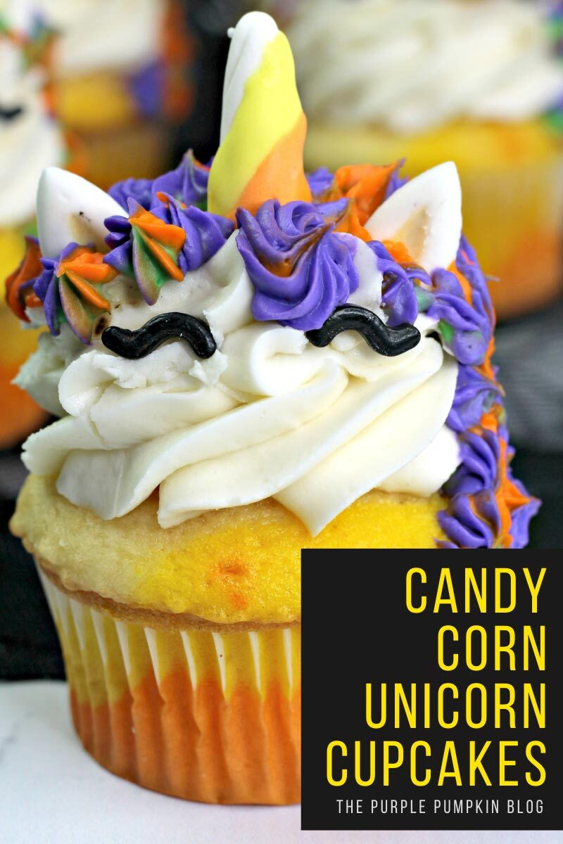 Candy Corn Unicorn Cupcakes Recipe