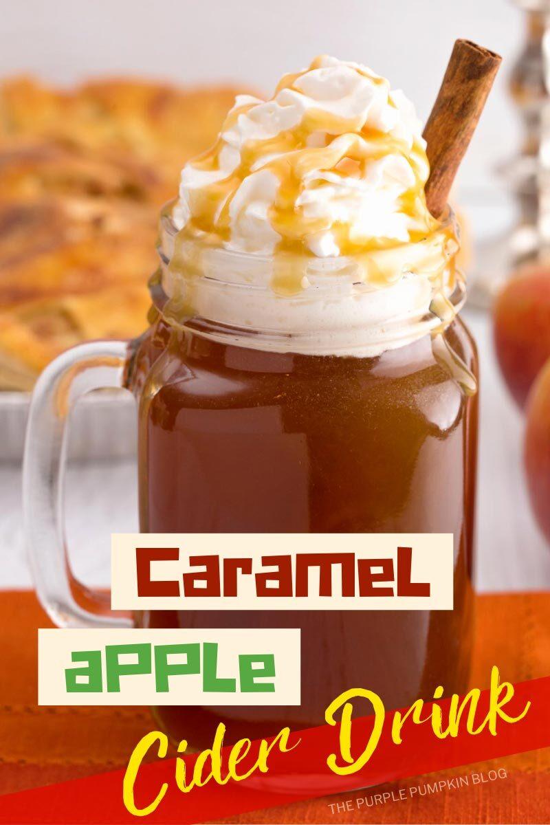 Caramel Apple Cider Drink