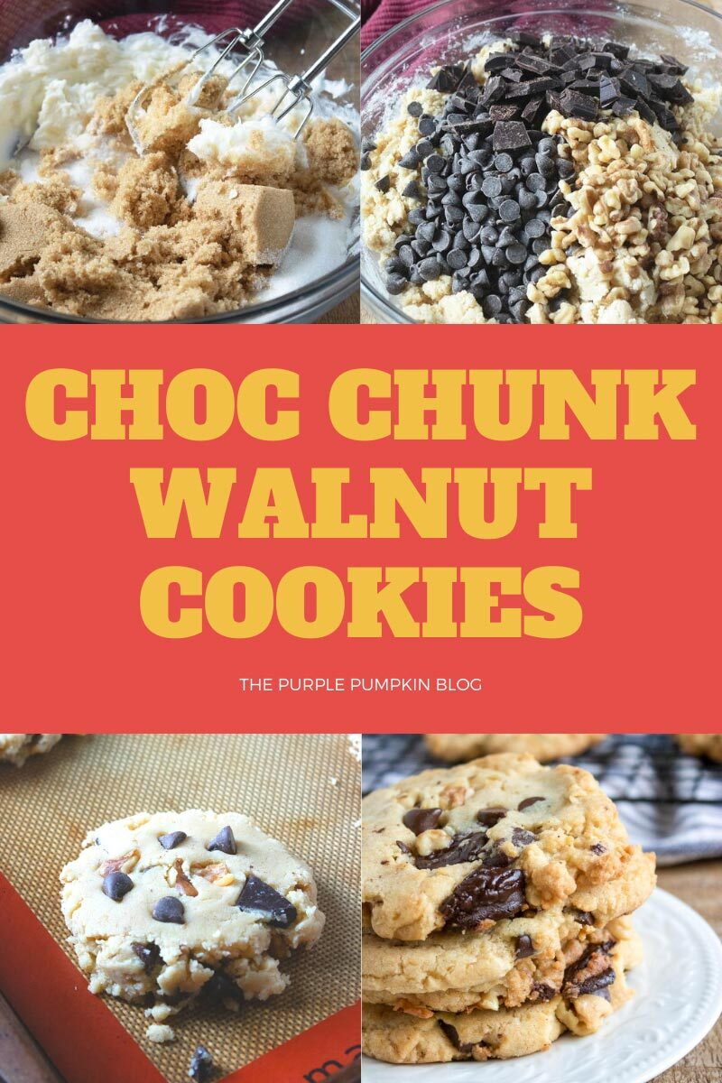 Choc Chunk Walnut Cookies Recipe