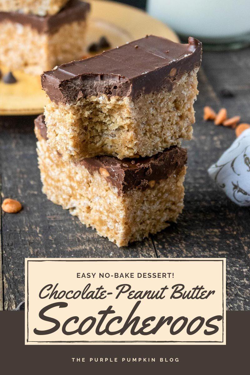 Chocolate Peanut Butter Scotcheroos