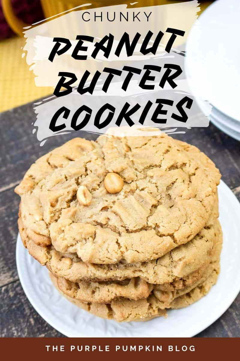 Chunky Peanut Butter Cookies Recipe