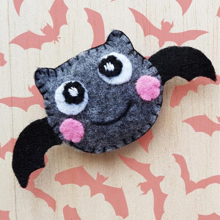 DIY Bat Plush Craft Tutorial