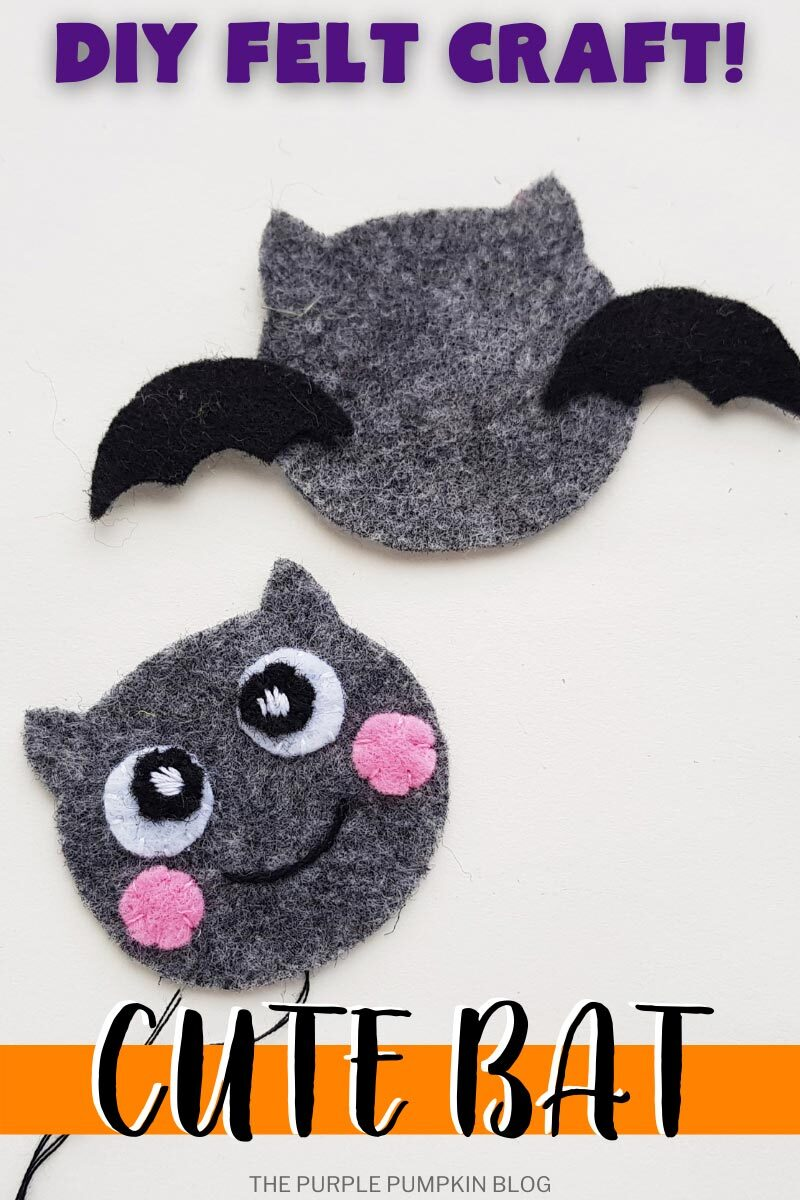 DIY Felt Craft - Cute Bat