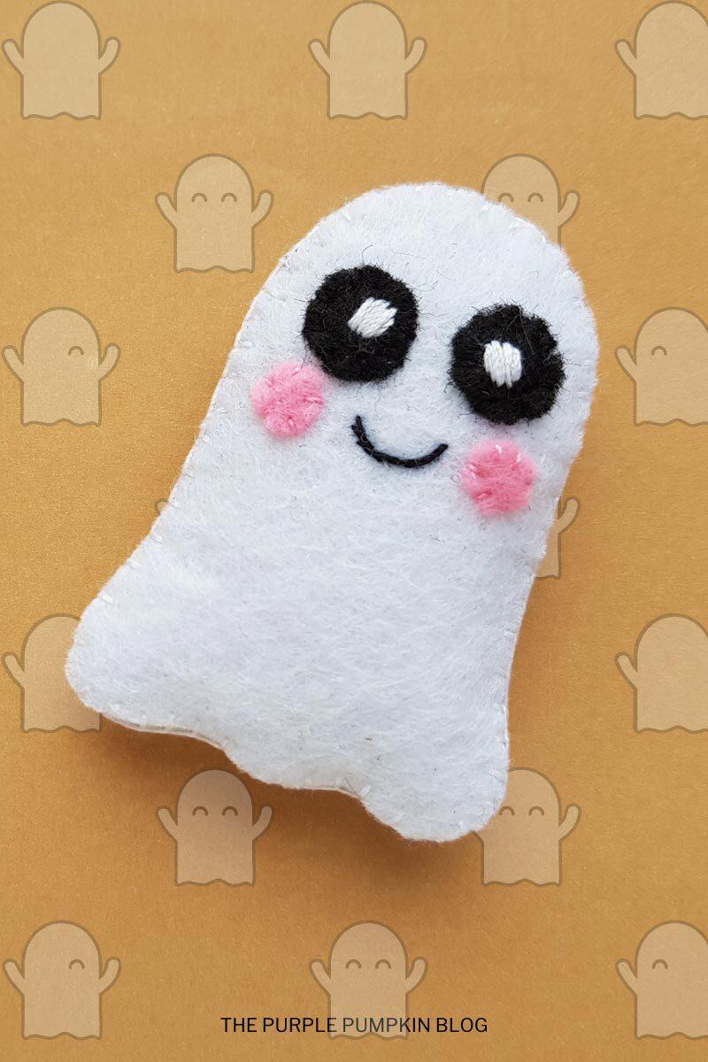 DIY Felt Ghost Plush Tutorial