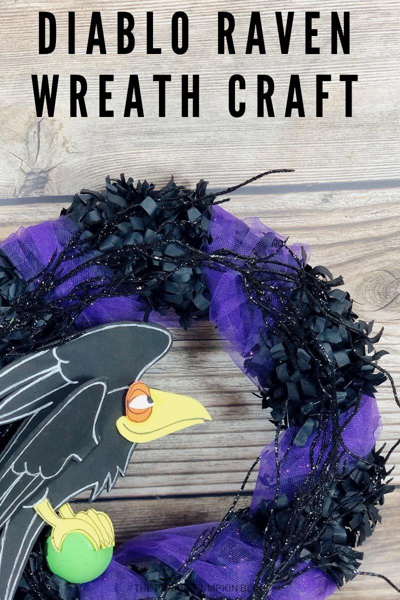 Diablo Raven Wreath Craft