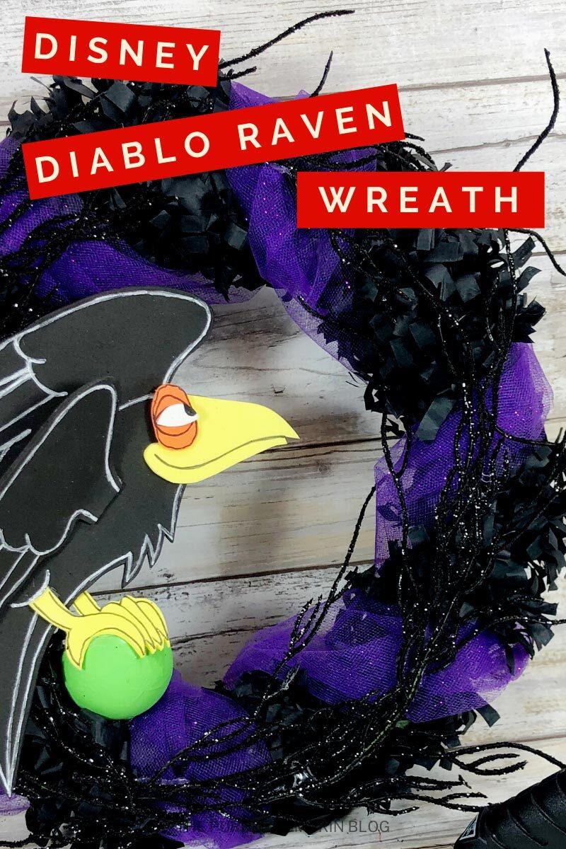 Disney Diablo Raven Wreath