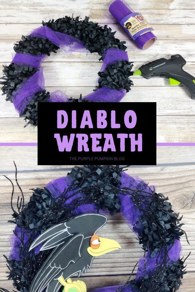 Disney Diablo Wreath