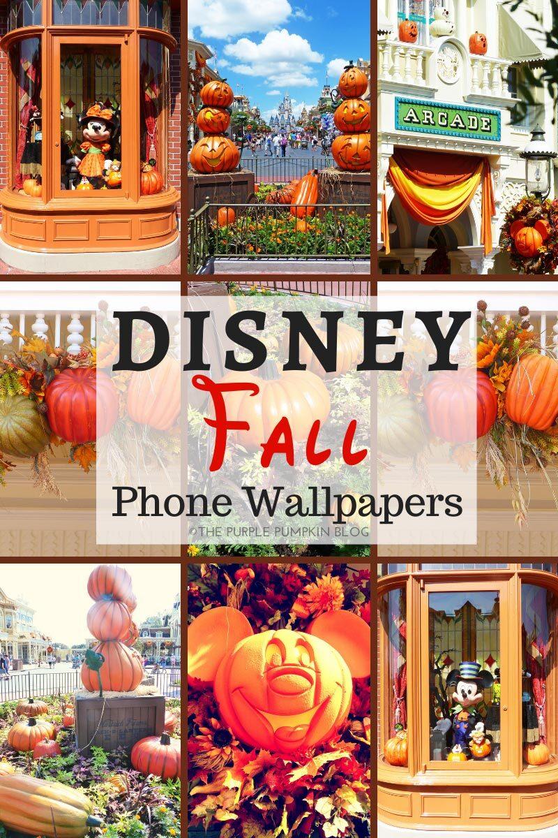 Disney Fall Phone Wallpapers