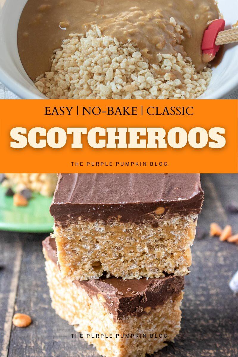 Easy No-Bake Classic Scotcheroos