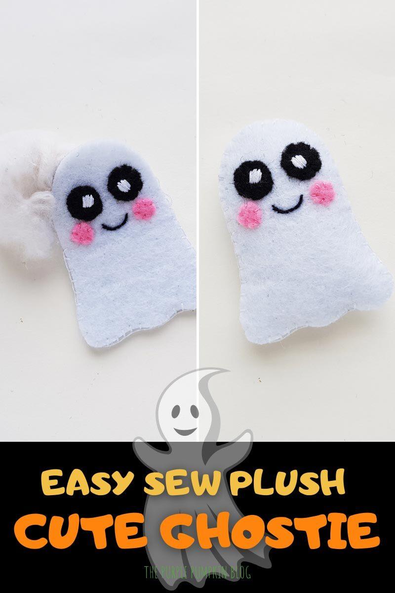 Easy Sew Plush - Cute Ghostie
