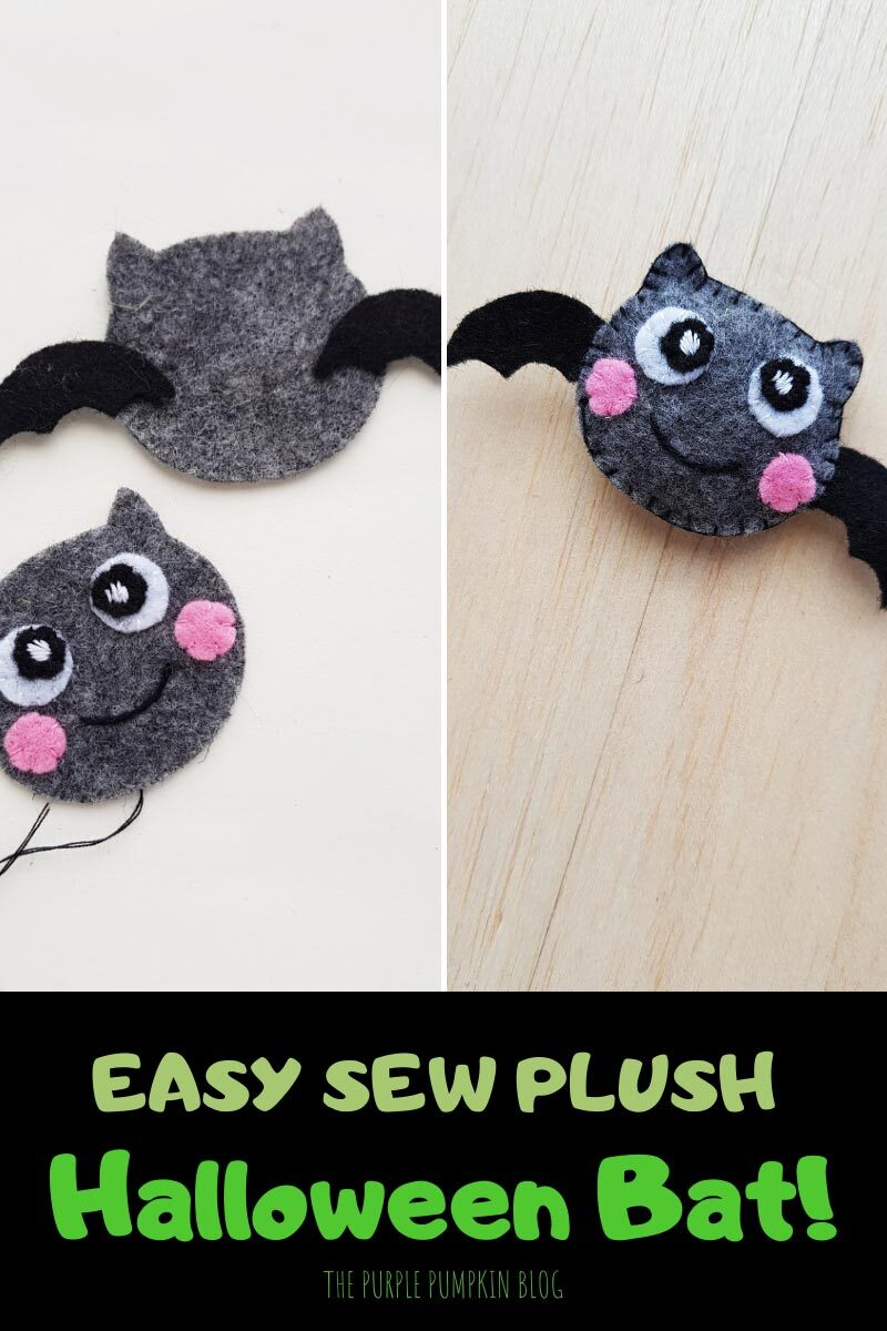 Easy Sew Plush - Halloween Bat!