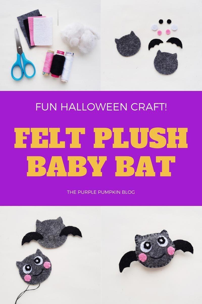 Felt Plush Baby Bat
