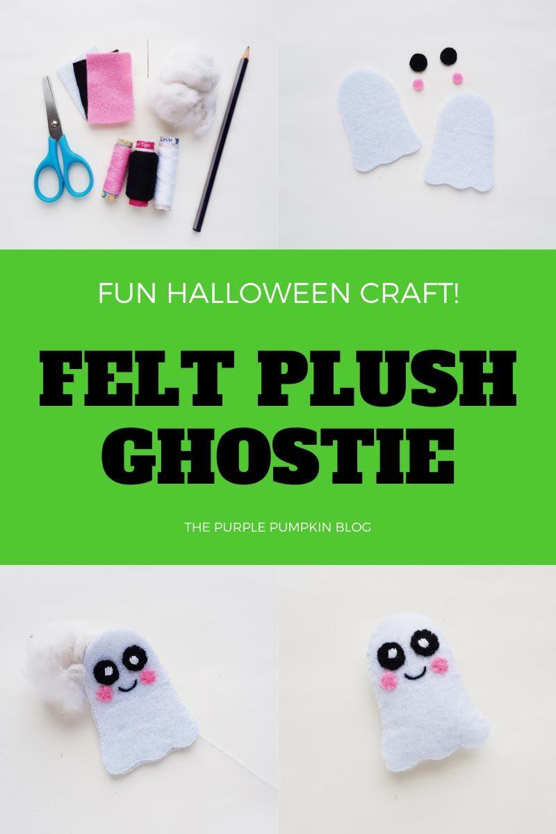 Felt Plush Ghostie