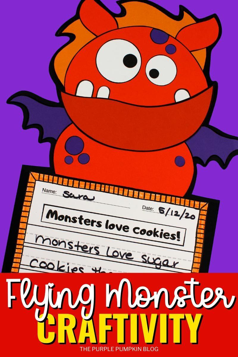 Flying Monster Craftivity