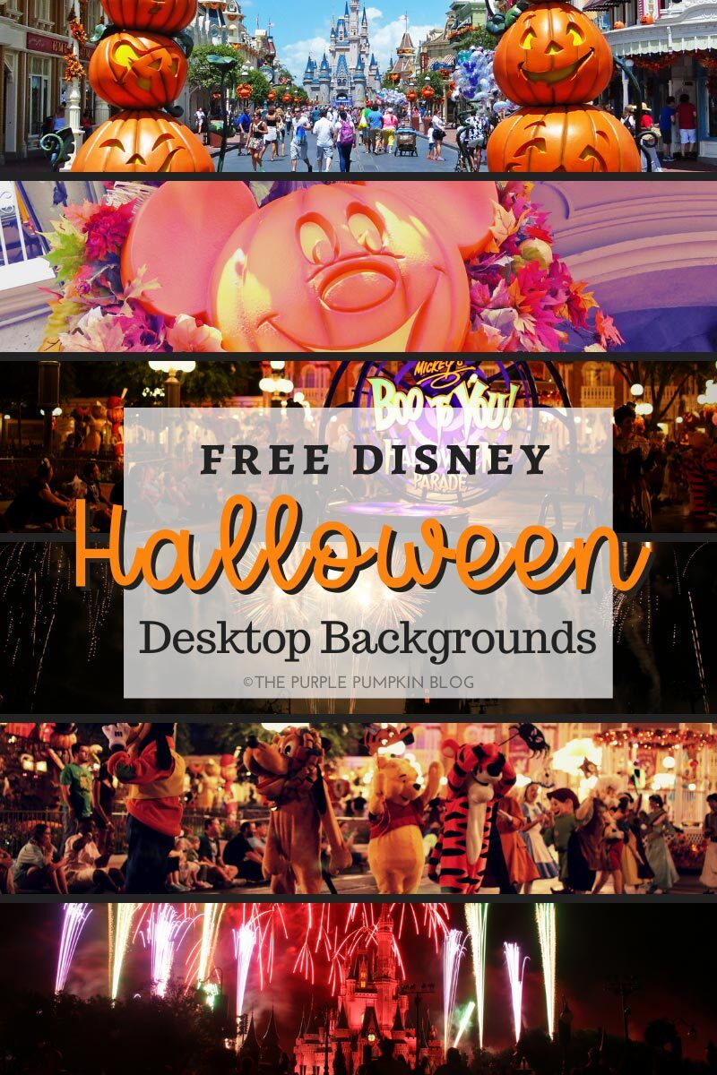 Free Disney Halloween Desktop Backgrounds
