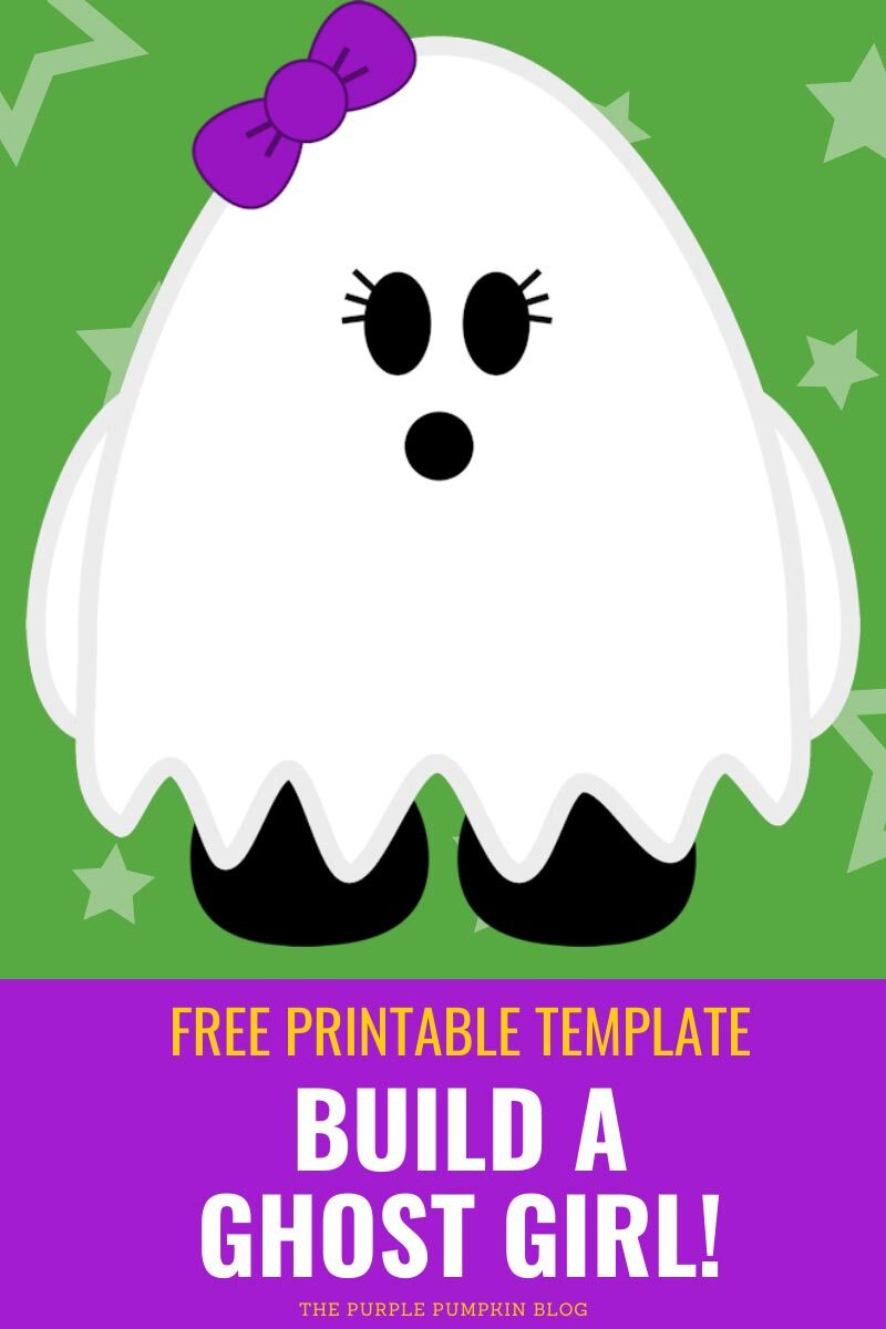 Free Printable Build a Ghost Girl