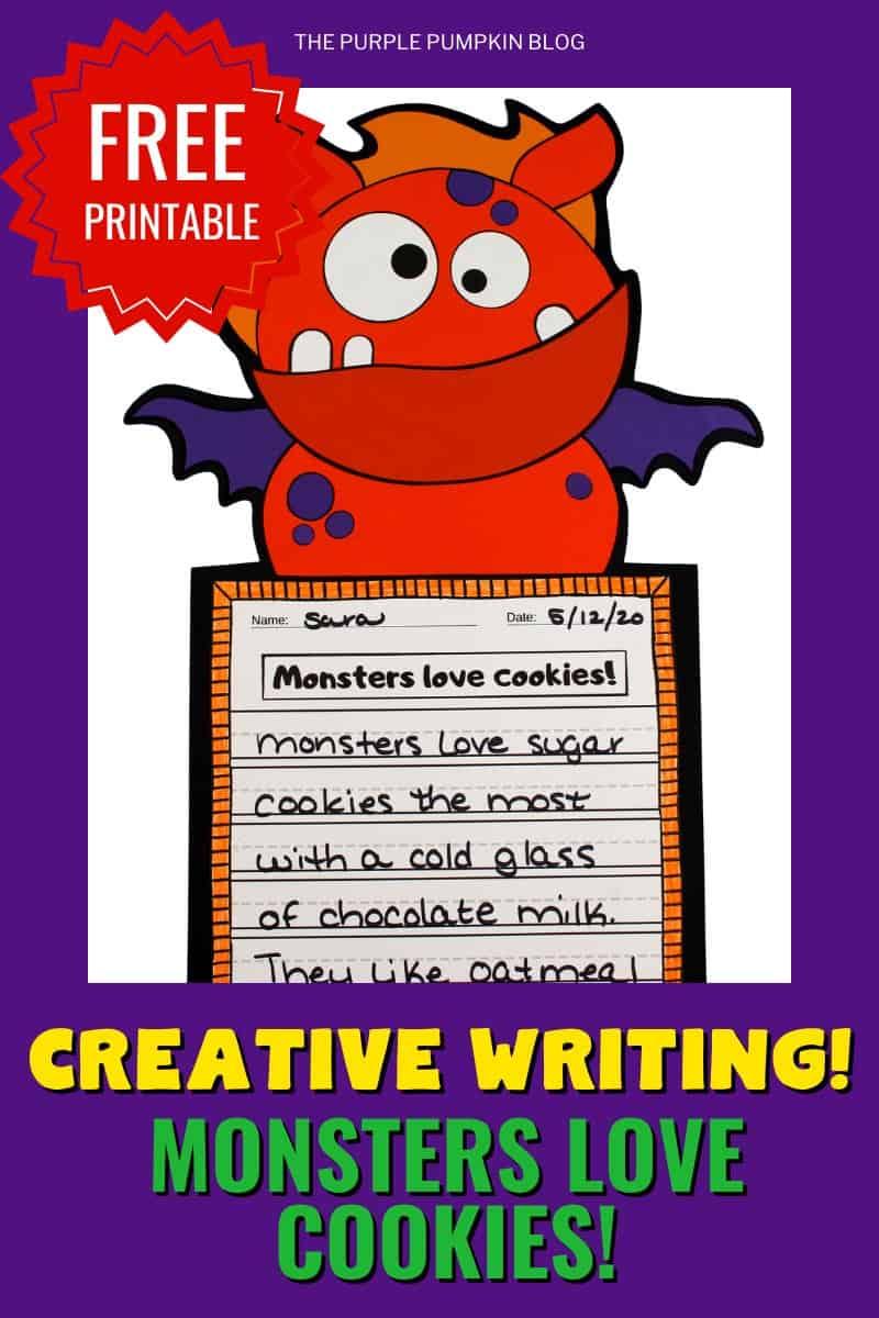 Free-Printable-Creative-Writing-Monsters-Love-Cookies