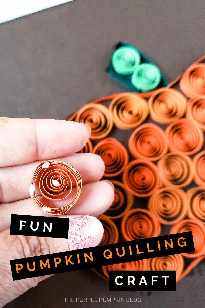 Fun Pumpkin Quilling Craft