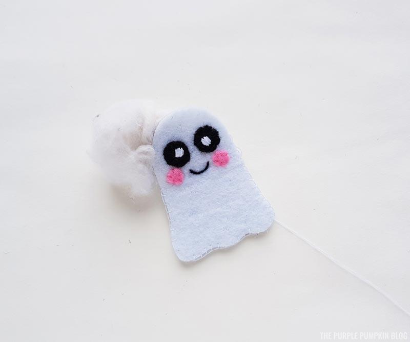 stuffing ghost plush