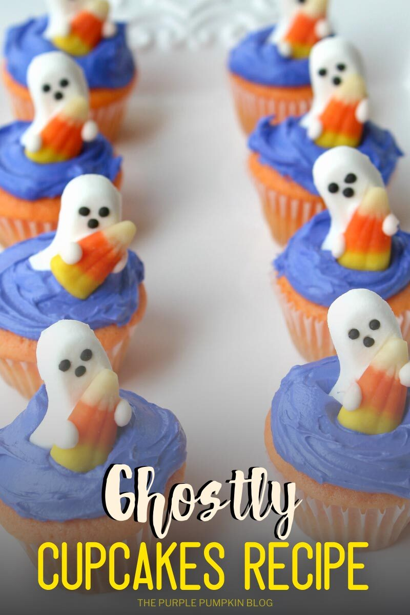Ghostly Cupcakes Recipe
