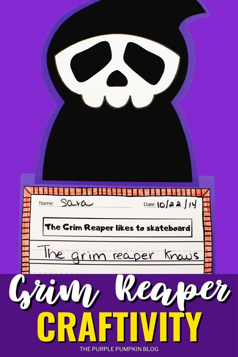 Grim Reaper Craftivity