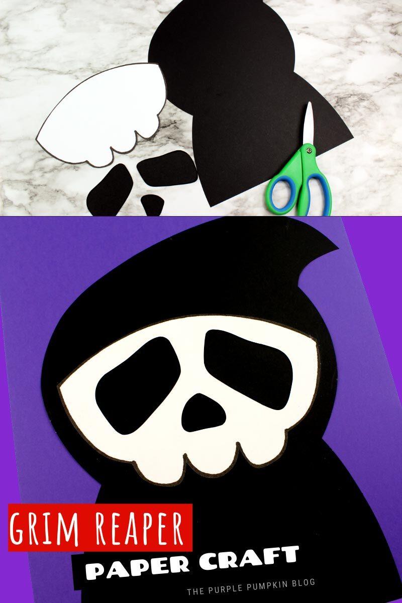Grim Reaper Paper Craft