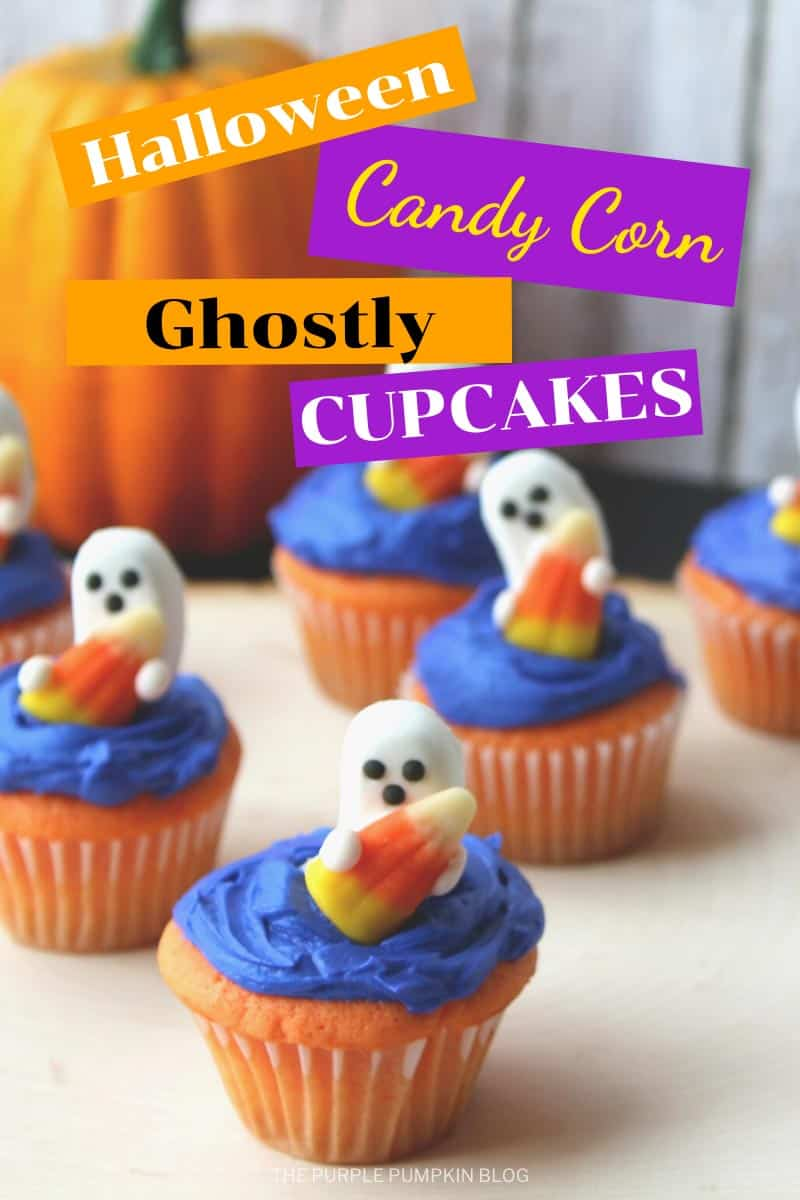 Halloween-Candy-Corn-Ghostly-Cupcakes