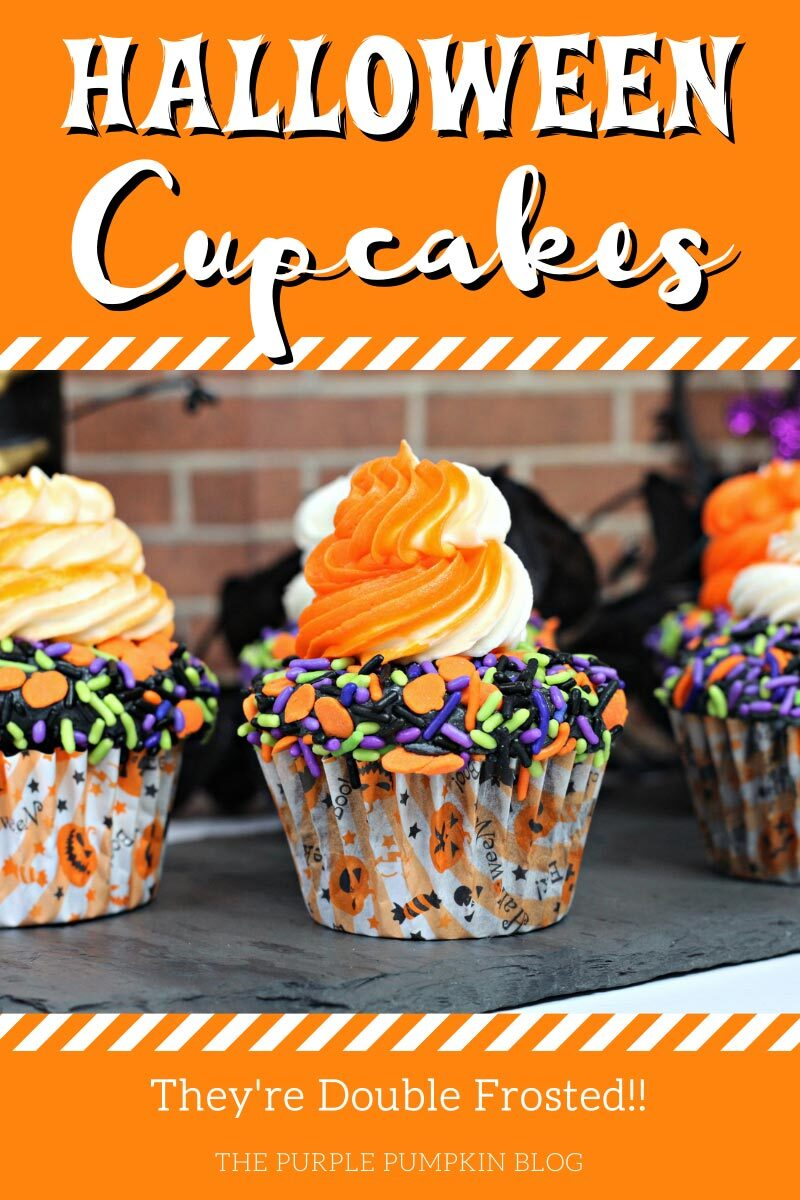 Halloween Cupcakes - Double Frosted!