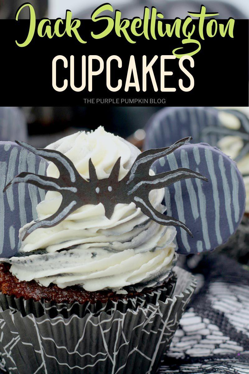 Halloween Jack Skellington Cupcakes