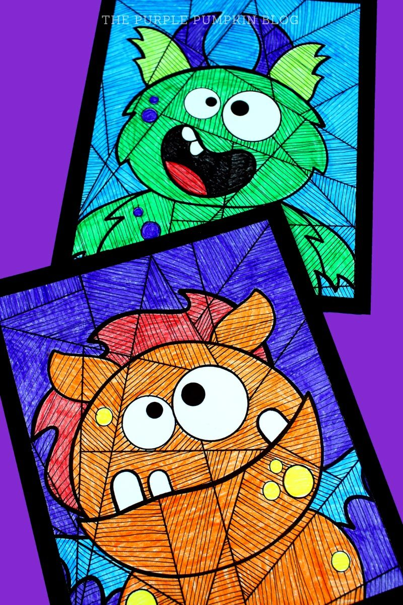 Monster Coloring Sheets