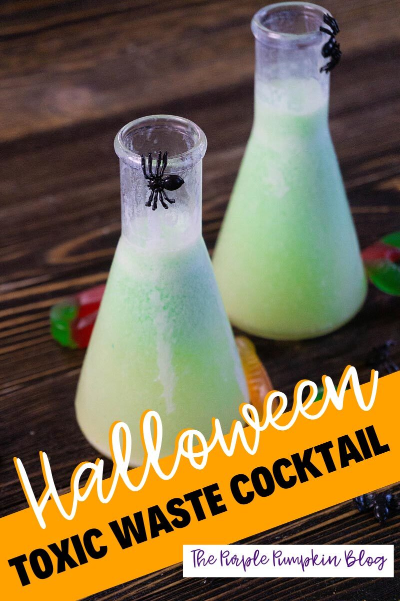 Halloween Toxic Waste Cocktail