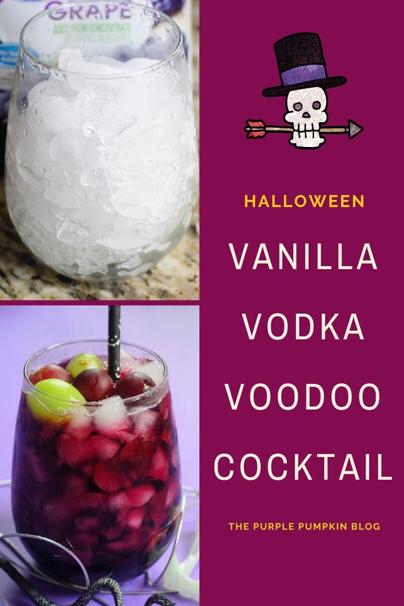 Halloween Vanilla Vodka Voodoo Cocktail