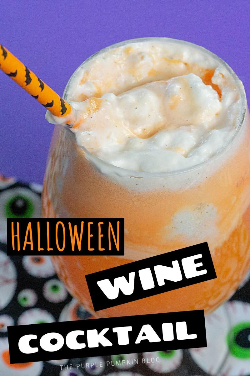 Halloween Wine Cocktail