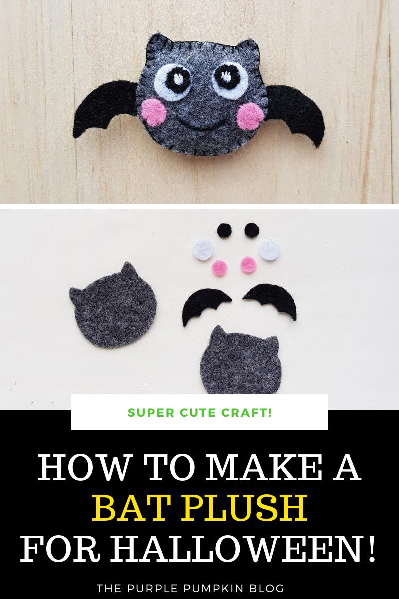How to Make a Bat Plush for Halloween