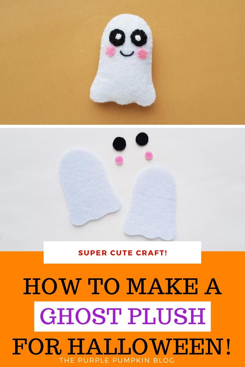 How to Make a Ghost Plush for Halloween