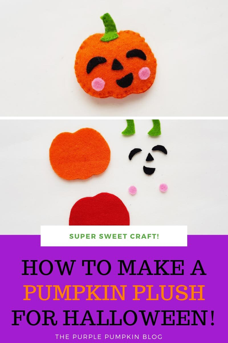 How to Make a Pumpkin Plush for Halloween