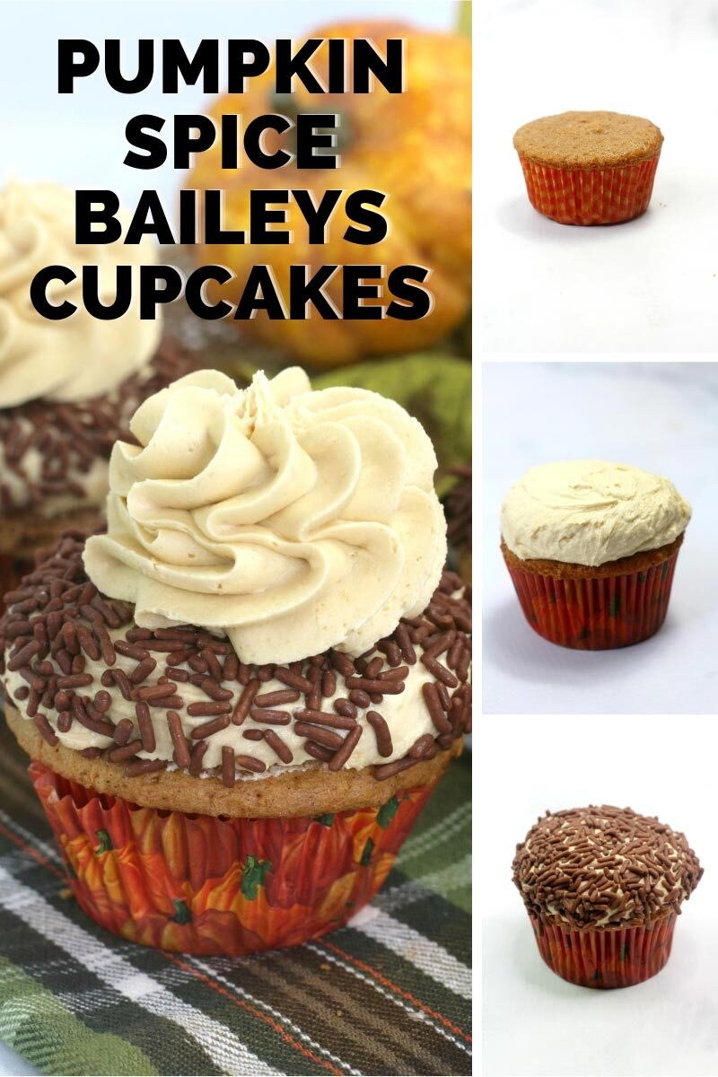 How to make Pumpkin Spice Baileys Cupcakes