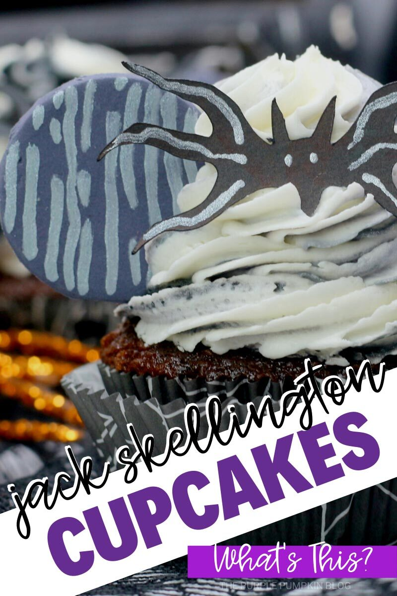 Jack Skellington Cupcakes for Halloween