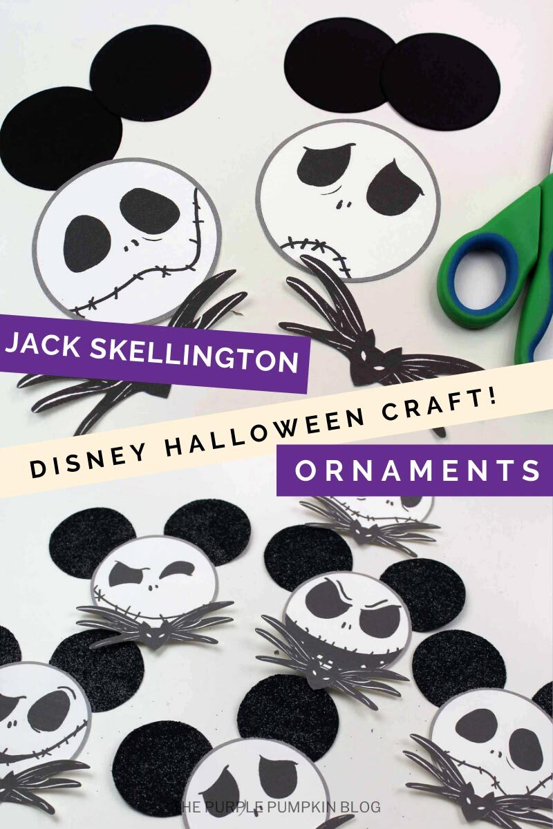 Jack Skellington Disney Halloween Craft Ornaments