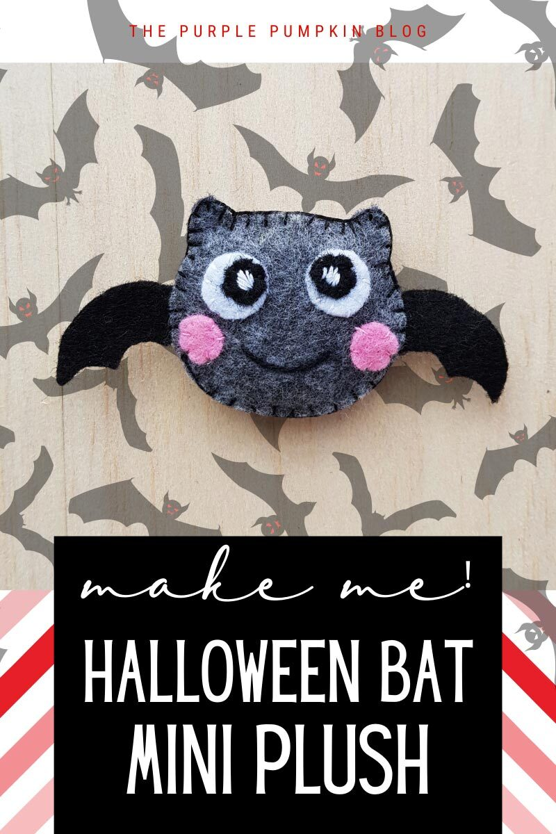 Make Me! Halloween Bat Mini Plush