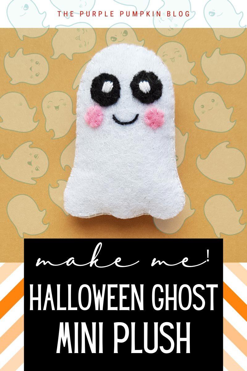 Make Me! Halloween Ghost Mini Plush