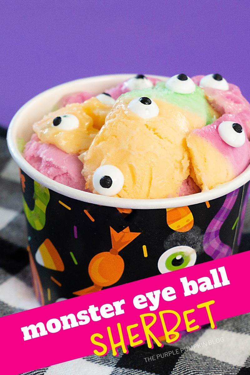 Monster Eye Ball Sherbet